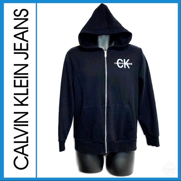 Calvin Klein Jeans Other - CK Jeans Vintage Full Zip Hoodie Youth Sz 12/14